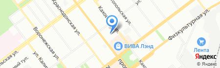 Отдел по ЖКХ и благоустройству на карте Самары