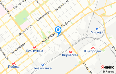 Местоположение на карте пункта техосмотра по адресу г Самара, ул Физкультурная, д 105
