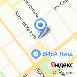 ЗАГС Кировского района на карте Самары
