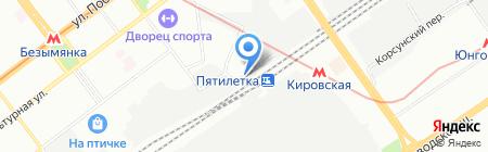 Гаражный кооператив №726а на карте Самары