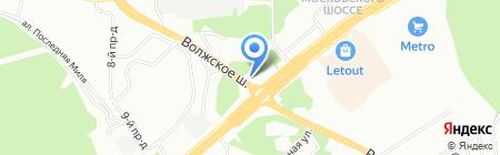 Автокомплекс на карте Самары