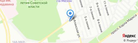 Камчатка на карте Самары