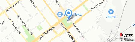 Горлица на карте Самары