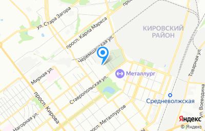 Местоположение на карте пункта техосмотра по адресу г Самара, ул Пугачевская, влд 73А