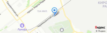 Выбор на карте Самары