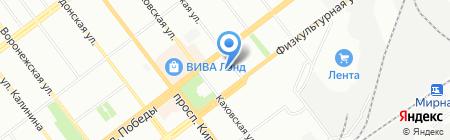 Олимп на карте Самары