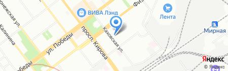 Детская музыкальная школа №20 на карте Самары