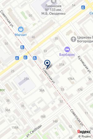 14-Й УЧАСТКОВЫЙ ПУНКТ на карте Самары