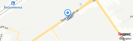 Энтузиаст-С на карте Самары