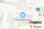 Схема проезда до компании Пятерочка в Мирном