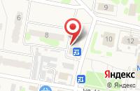 Схема проезда до компании Золотая корона в Мирном