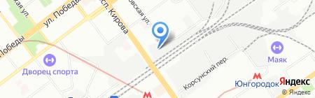 А.Н.О. на карте Самары