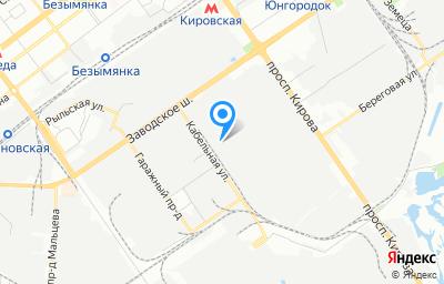 Местоположение на карте пункта техосмотра по адресу г Самара, проезд Совхозный, д 12Б