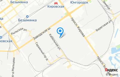 Местоположение на карте пункта техосмотра по адресу г Самара, проезд Совхозный, зд 12Б