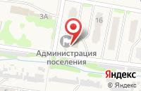 Схема проезда до компании Поволжский банк Сбербанка России в Мирном