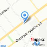Каховка на карте Самары