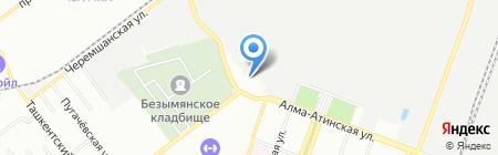 АБВ на карте Самары