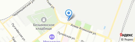 Симвент на карте Самары