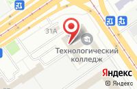 Схема проезда до компании Волгастрой в Самаре