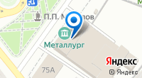 Компания Лабиринт на карте