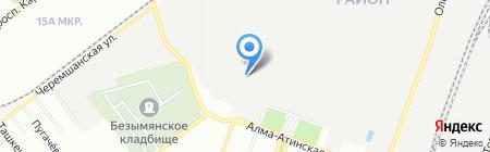 Агропроммонтаж на карте Самары