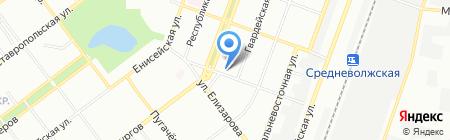 Эврика на карте Самары