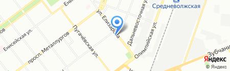 Бристоль на карте Самары