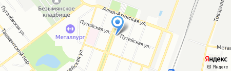 Тохоку на карте Самары