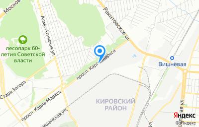 Местоположение на карте пункта техосмотра по адресу г Самара, пр-кт Карла Маркса, влд 495