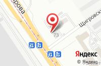 Схема проезда до компании Ресурсстройсервис в Самаре