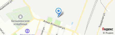 Юнитек на карте Самары