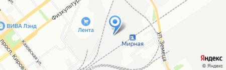 Самарский крановый завод на карте Самары