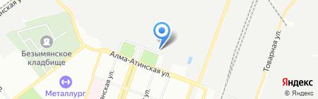 Венсида Плюс на карте Самары