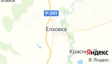 Отели города Елховка на карте