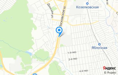Местоположение на карте пункта техосмотра по адресу г Самара, ш Московское, д 7А