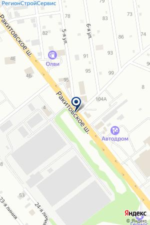 VIP ТАКСИ СОНАТА на карте Самары