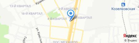 Ева на карте Самары