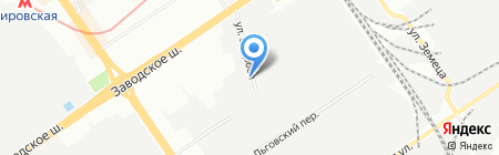 Автотандем на карте Самары