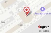 Схема проезда до компании Самараснабсервис в Самаре