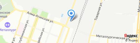 Волга-Метиз на карте Самары