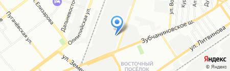 Абрис на карте Самары