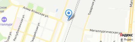Фабрика Упаковки на карте Самары