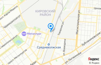 Местоположение на карте пункта техосмотра по адресу г Самара, ул Олимпийская, зд 57Г