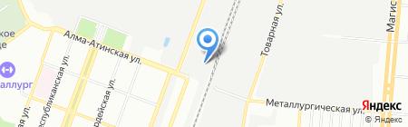 Кобра на карте Самары