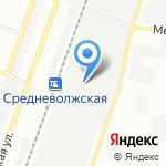 Самарское Транспортное Управление на карте Самары