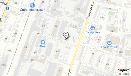 СТФ Плюс. Схема проезда в Самаре