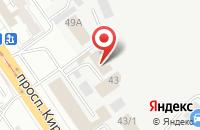 Схема проезда до компании Вардек в Подольске