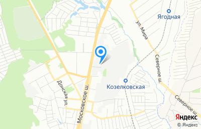 Местоположение на карте пункта техосмотра по адресу г Самара, ш Московское (п Мехзавод), д 20