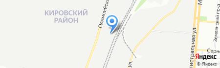 Волгостройлес на карте Самары