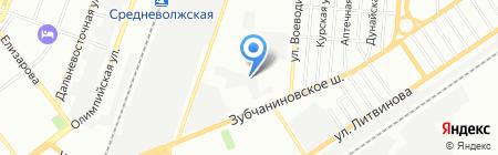 КОСС на карте Самары